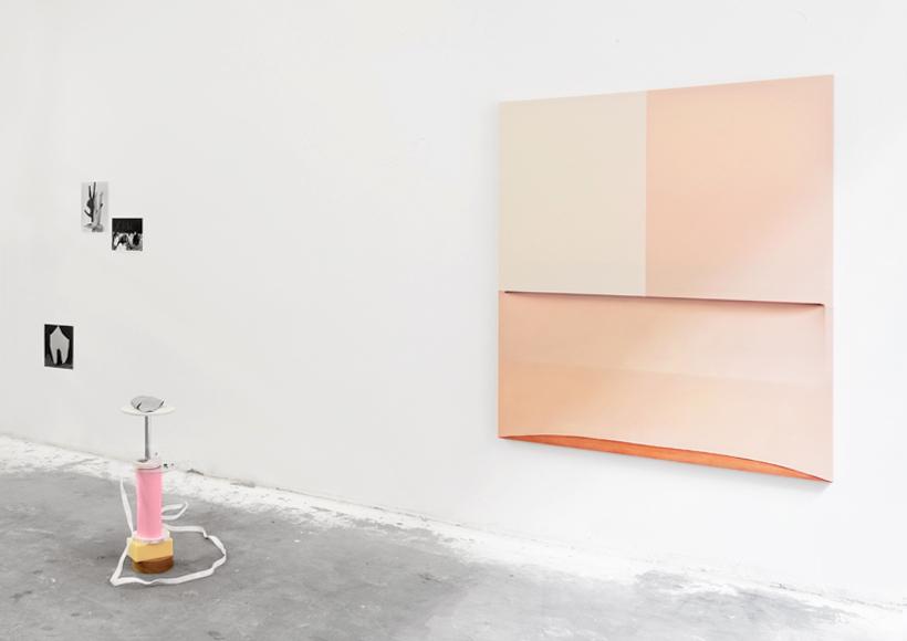 <p>Ausstellungsansicht (v.l.n.r.): Carina Brandes, Florian Japp, Sarra Turan</p>