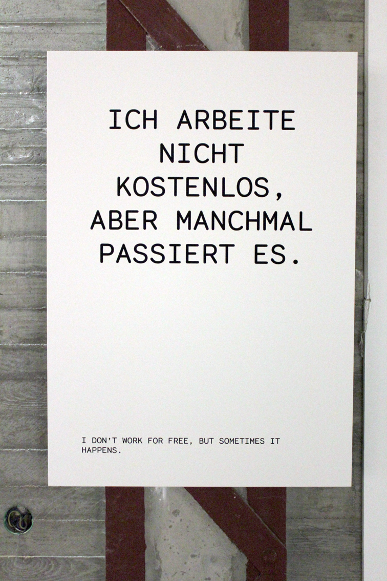 <p>Stine Marie Jacobsen, <em>German for Artists</em>, 2015</p>