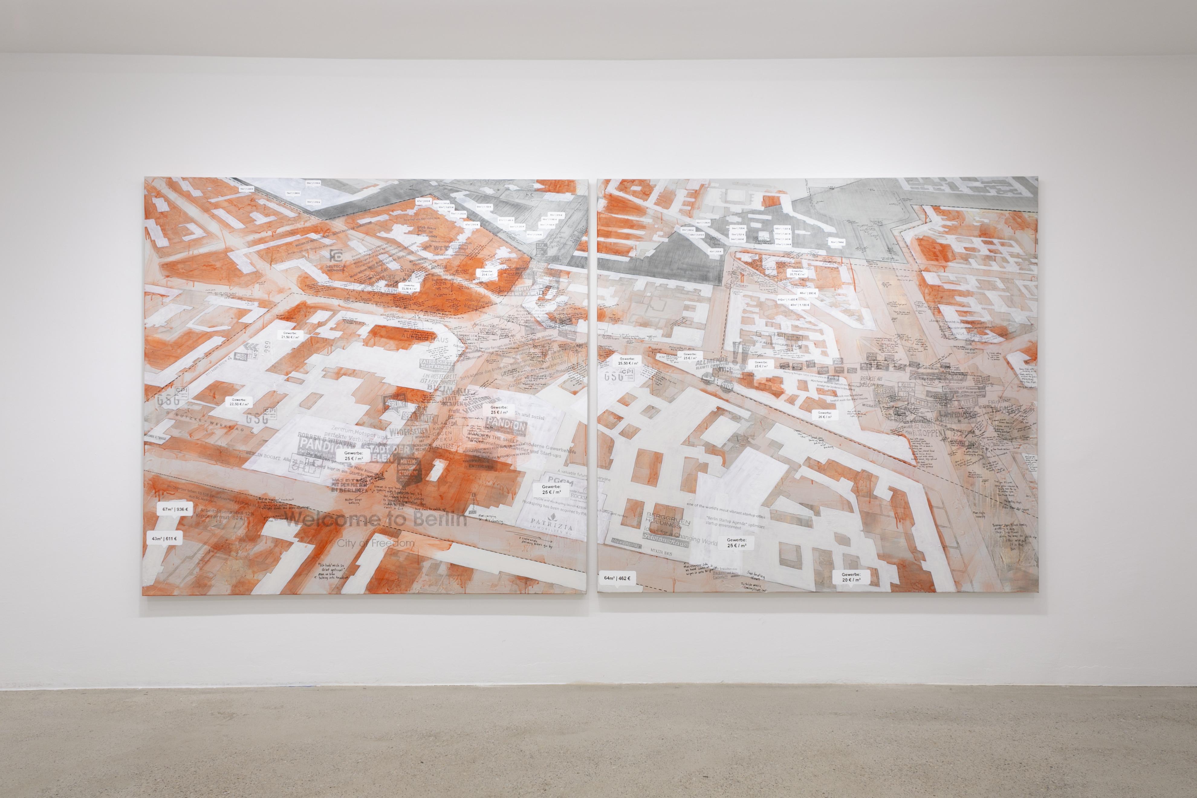 <p>Larissa Fassler at SMAC, Linienstr. 57, 10119 Berlin; photo: Anastasia Muna</p>