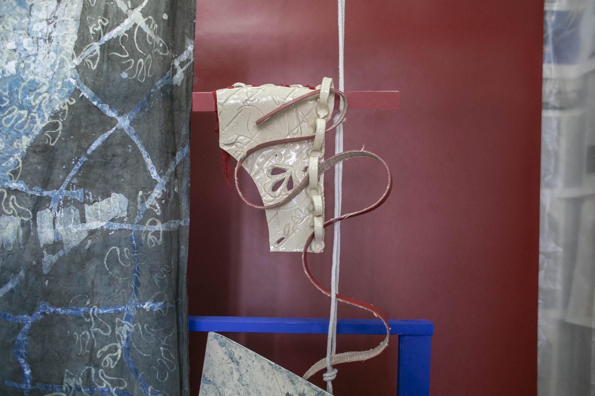 "<p>Ada Van Hoorebeke, ""<i>Goods & Services"", </i>Kinderhook & Caracas, Kreuzbergstr. 42e, 10965 Berlin. Foto: Anastasia Muna</p>"